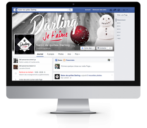 Page Facebook du salon de quilles Darling
