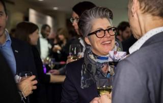 Isabelle Lavoie au Cocktail du nouvel an de la Chambre de commerce de l'Est de Montréal (CCEM)
